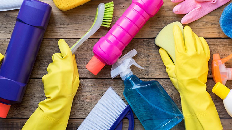 Le pulizie di casa al rientro delle ferie